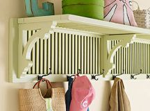 Home DIY Projects Using Shutters - Creative Decorating ...