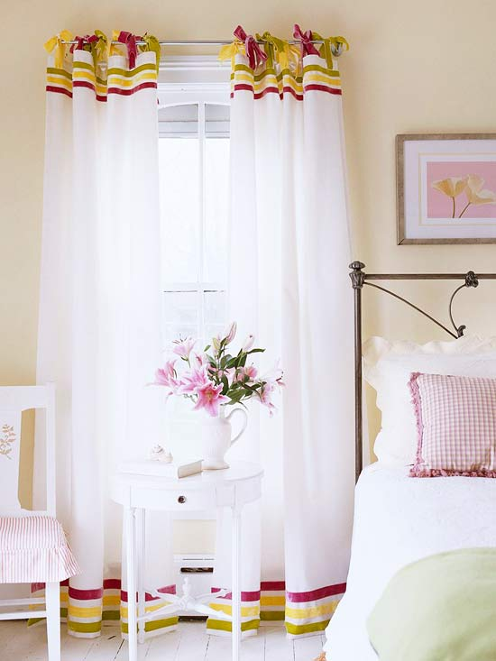 NoSew Curtains  DIY Curtain Ideas That are Quick and