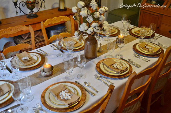 Fall Leaves Nd Burlap Wallpaper Tabletop Tuesday Fall Table Setting Ideas Week 5