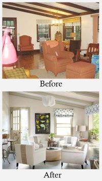 Living Room Makeovers: Before and After Photos