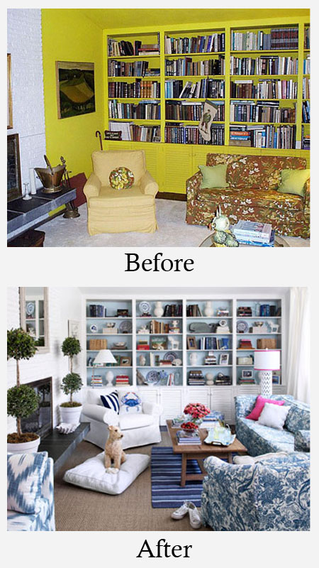 Living Room Makeovers Before and After Photos