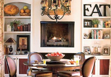 Decorating Small Living Rooms With Fireplaces