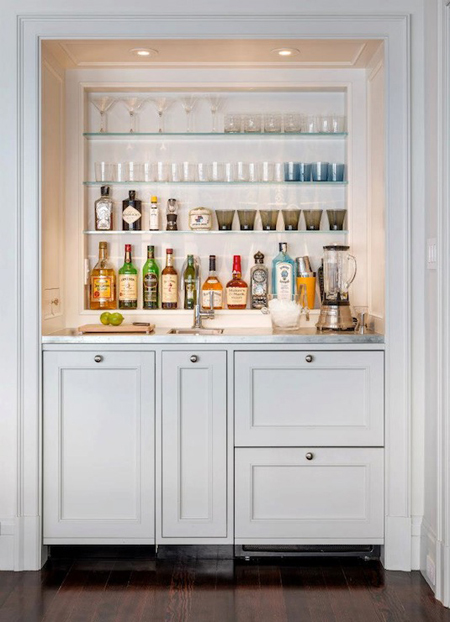 Home Bars That Serve Up Style  The Decorating Files
