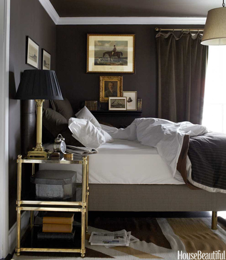 Bedroom Design with a Masculine Vibe
