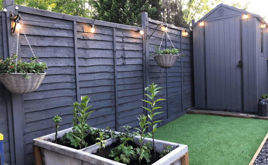 Fence and shed paint