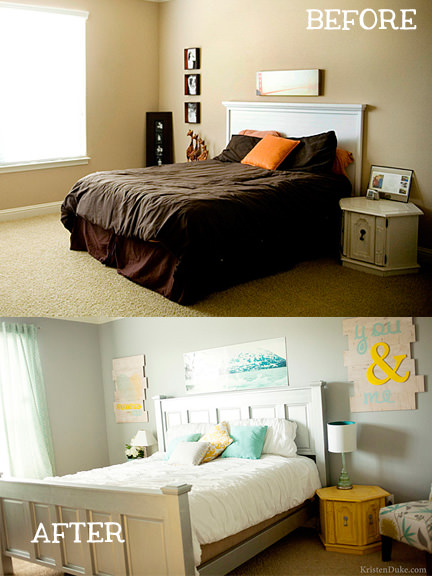 Small Bedroom Makeovers  Decorating Your Small Space