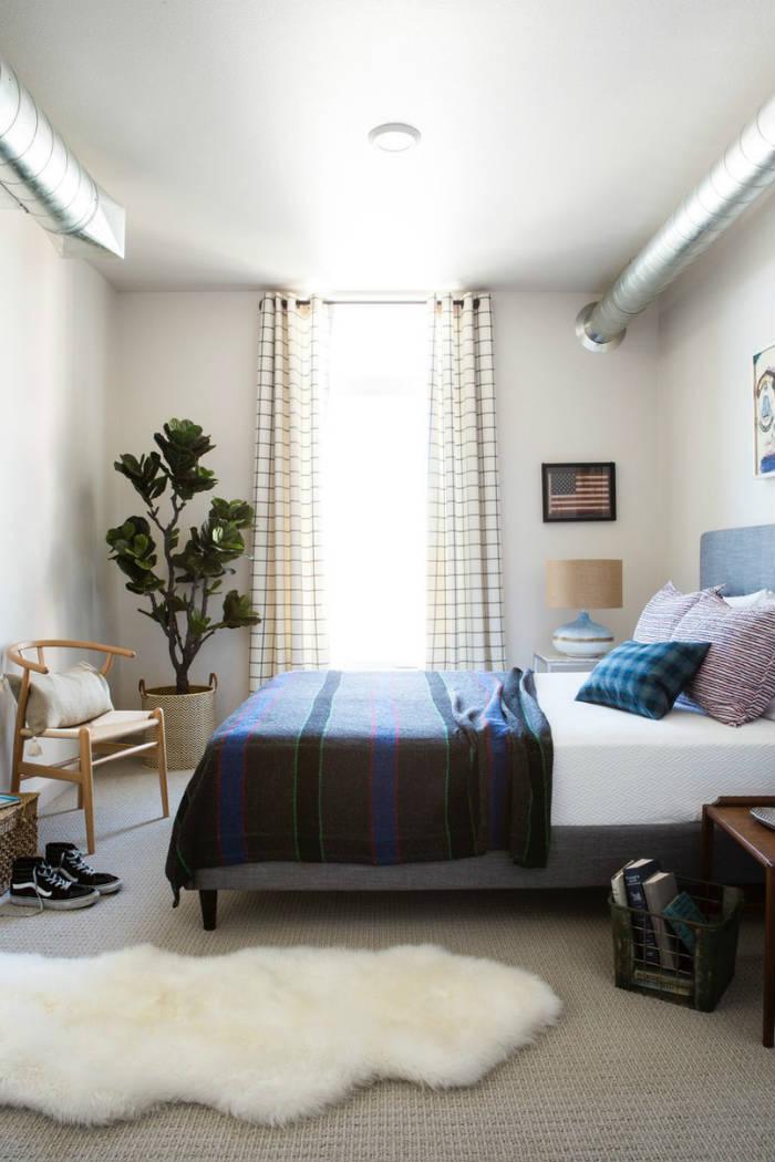 Με λίγα τρικ μπορείς να κάνεις το υπνοδωμάτιο να φαίνεται μεγαλύτερο.