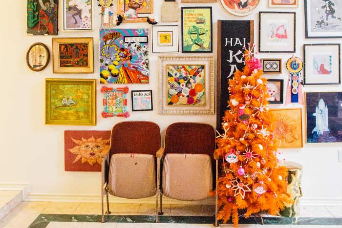 πορτοκαλι χριστουγεννιατικο δεντρο