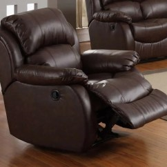 Easy Chairs With Footrests Tall Garden How To Buy The Best Leather Recliner Decoration Channel