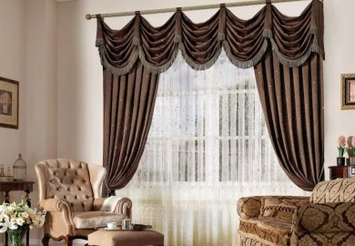 Black Curtains Living Room