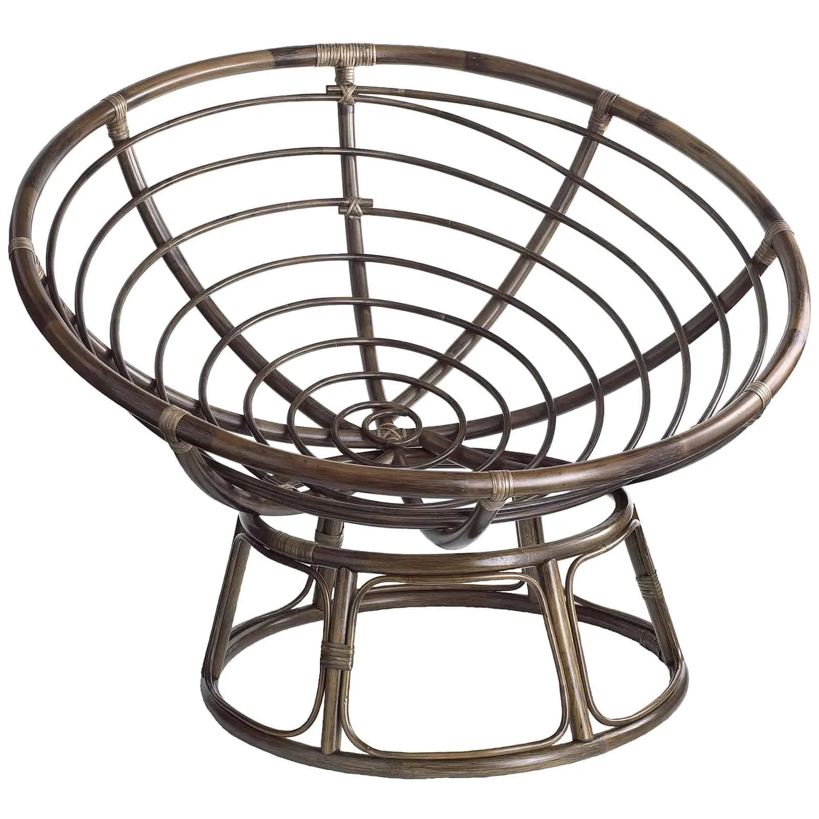 Metal Papasan Chair The Papasan Chair A Classic Design With Different Versions