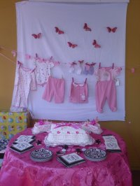 Baby Girl Shower Decorations  Decoration Ideas