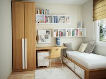 30 Mind-Blowing Small Bedroom Decorating Ideas | CreativeFan
