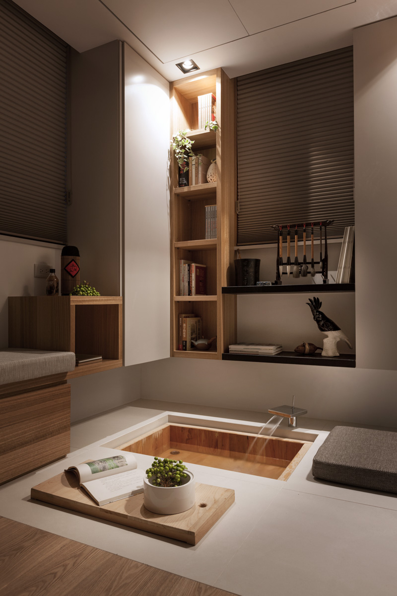 Bathroom Design With Asian Style