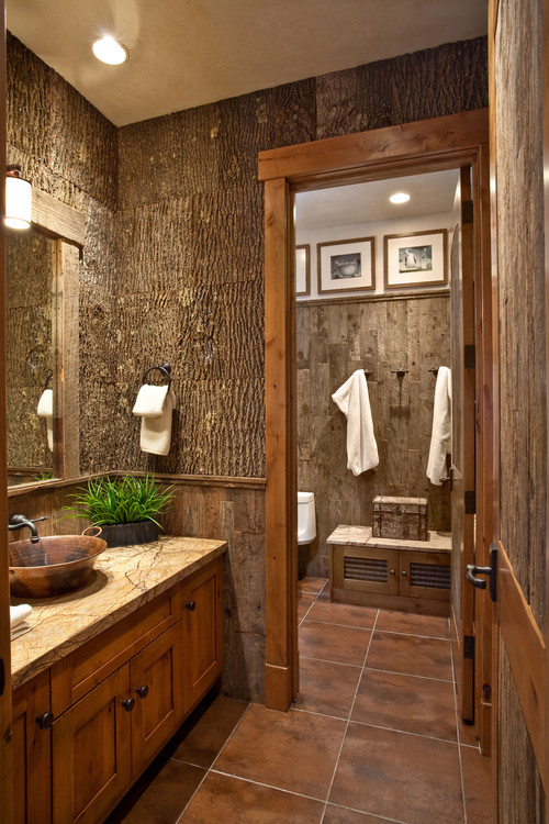 25 Rustic Bathroom Design Ideas Decoration Love