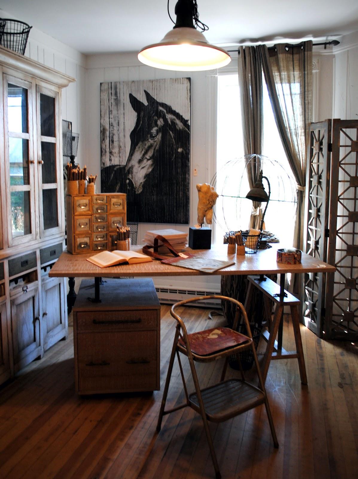 25 Industrial Home Office Design Ideas  Decoration Love