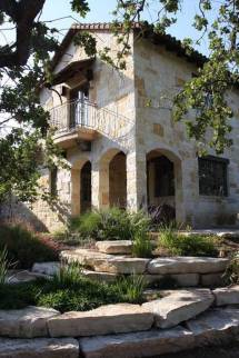 Mediterranean Homes with Stone
