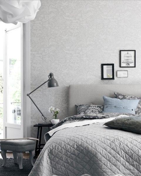 scandinavian bedroom design grey Modern Scandinavian Bedroom Design
