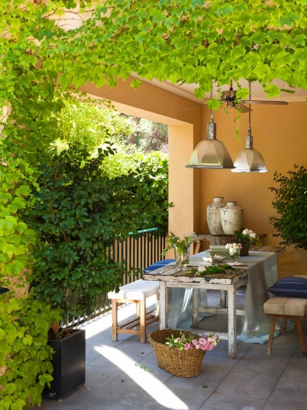 25 ShabbyChic Style Outdoor Design Ideas  Decoration Love