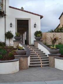Mediterranean-style Stairs