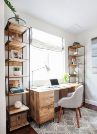 Stunning Shabby-Chic Style Home Office Design