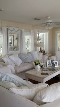 Stunning Shabby-Chic Style Living Room Design