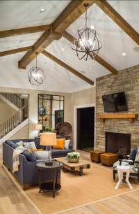 Stylish Transitional Living Room Design
