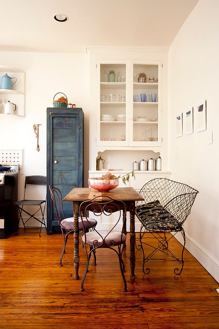 Vintage Shabby Chic Style Dining Room Design
