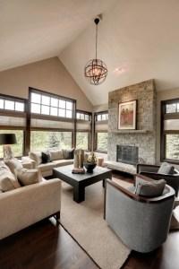 Wonderful Transitional Living Room Design