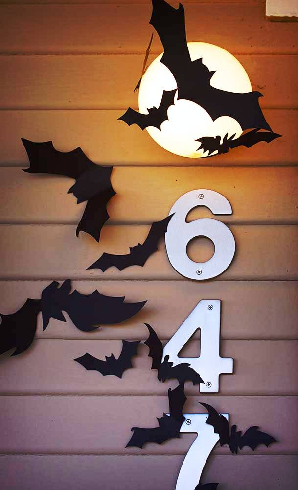 interior decoration ideas for small living room paint a with brown furniture construction paper bats halloween decorations