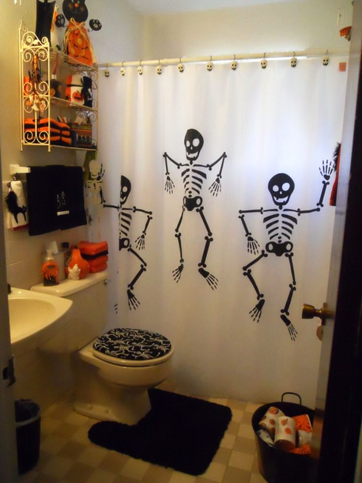 Cool Wall Lights 25 Bathroom Halloween Decorations Ideas - Decoration Love