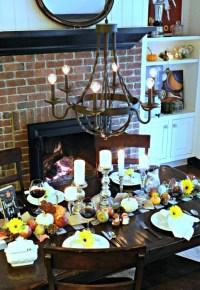 Dollar Store Table Halloween Decorations
