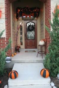 Easy Halloween Door Decorations