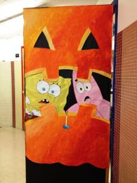 Halloween Classroom Door Decoration Ideas