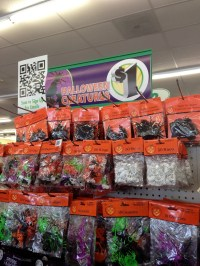 Happy Dollar Store Halloween Decorations