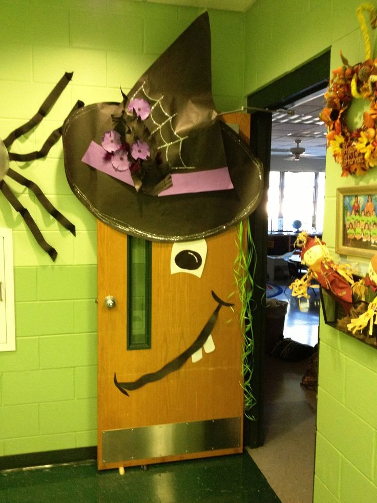 Pinterest Halloween Classroom Door Decorations