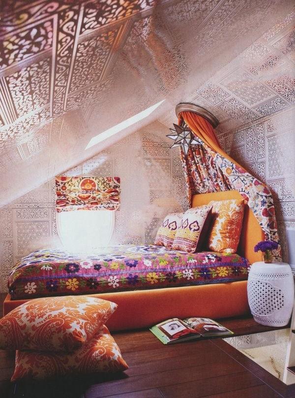 Cool Hipster Bedroom Design