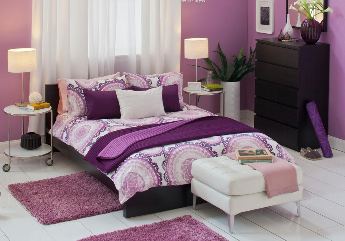 15 Romantic Purple Bedroom Design Ideas  Decoration Love