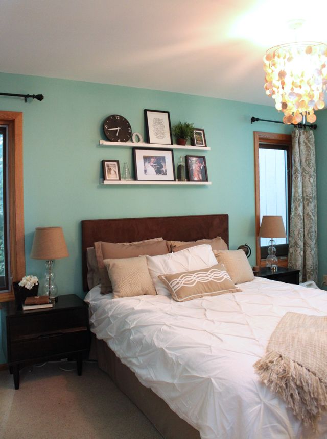 Get inspired with our blue and gray bedroom ideas. 25 Teal Bedroom Designs You Will Love To Copy - Decoration