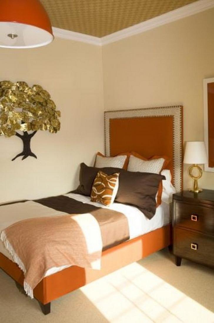 Warm Bedroom Design Ideas