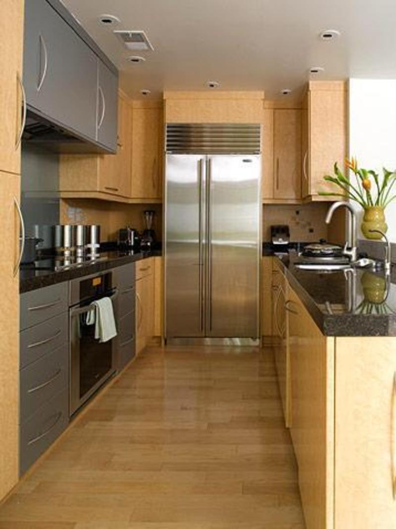 Galley Style Kitchen Layout