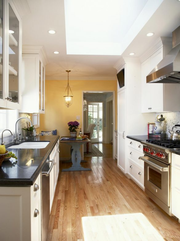 30 Beautiful Galley Kitchen Design Ideas  Decoration Love