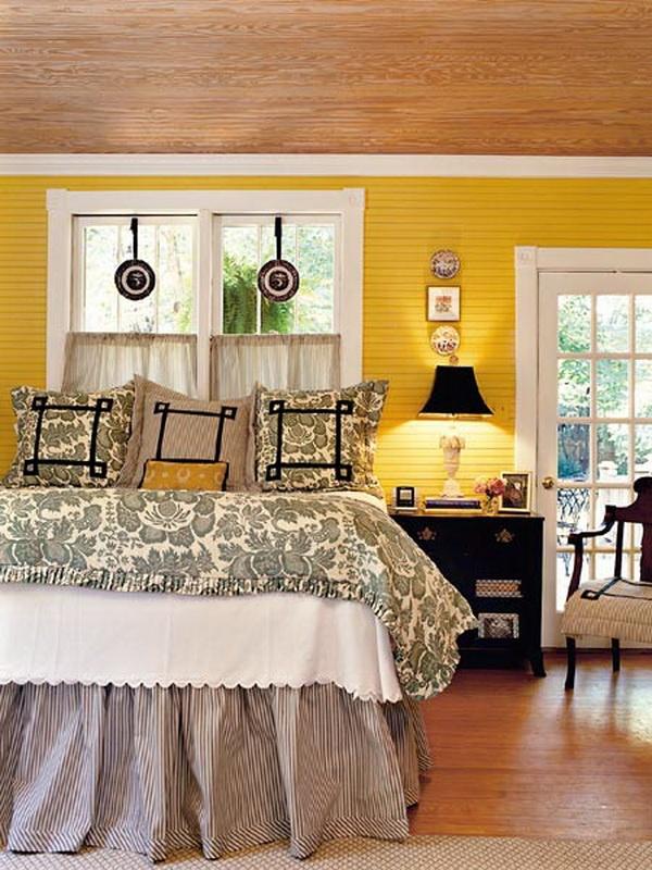 30 Beautiful Yellow Bedroom Design Ideas Decoration Love