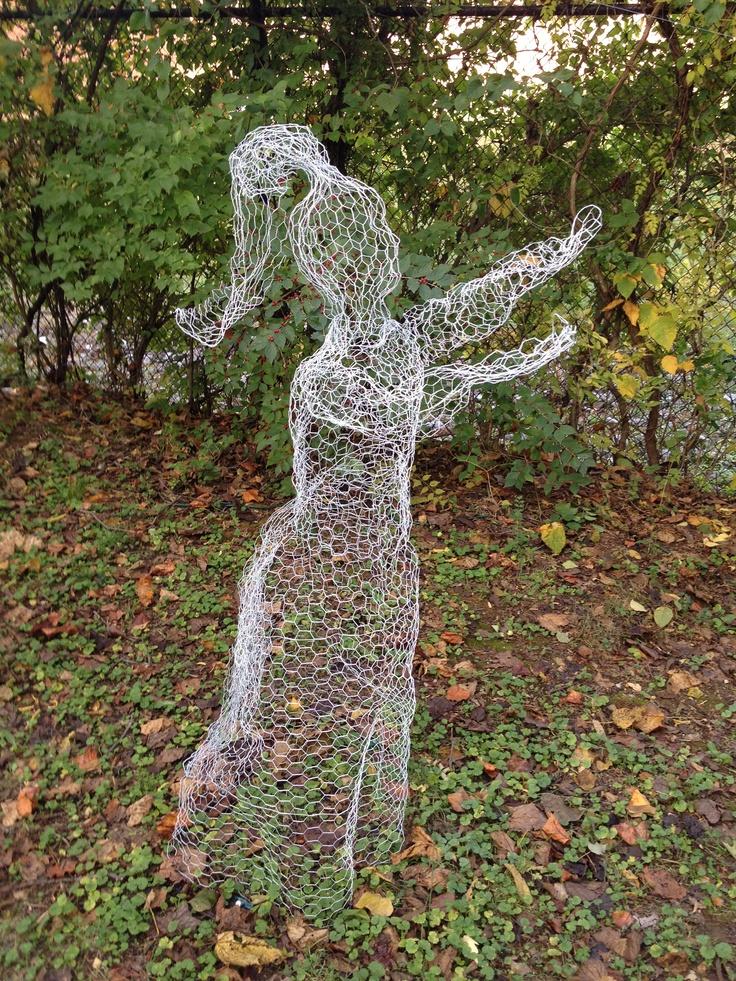 Chicken Wire Outdoor Halloween Decorations  Decoration Love
