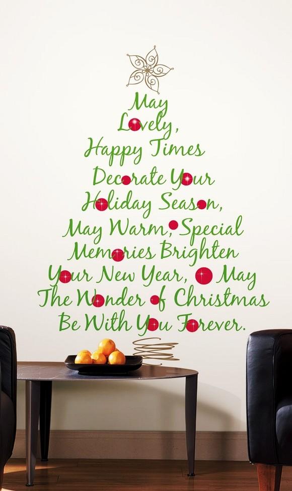 40 Christmas Wall Decorations Ideas  Decoration Love