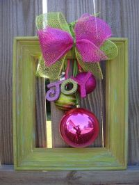 Cute Christmas Door Decor