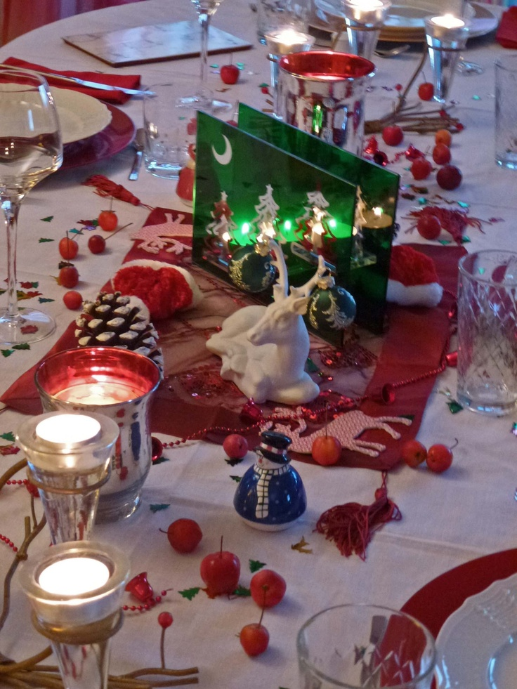 Cute Christmas Table Decorations