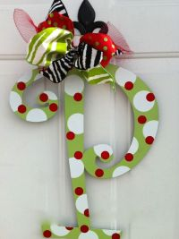 Cute & Easy Christmas Door Decoration