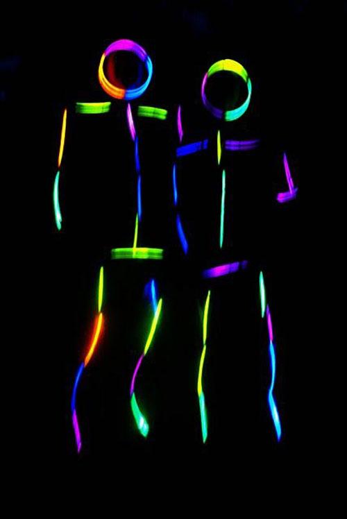 Glow Sticks Outdoor Halloween Decorations Decoration Love