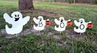 Cute Outdoor Halloween Decorations